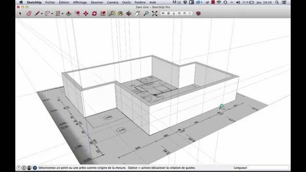 formation sketchup pour l'architecture